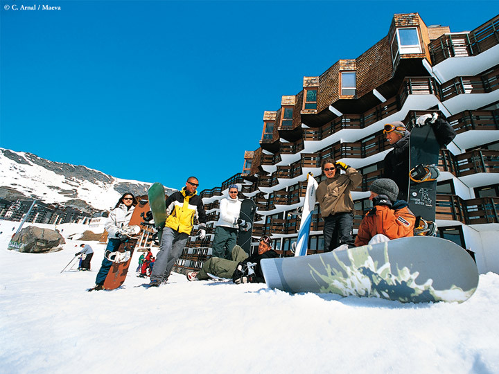 village vacances ski val thorens
