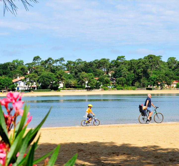 Vacances en location vélo  hotel du parc Hossegor